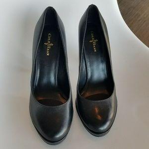 Nwot Cole Haan black leather heels